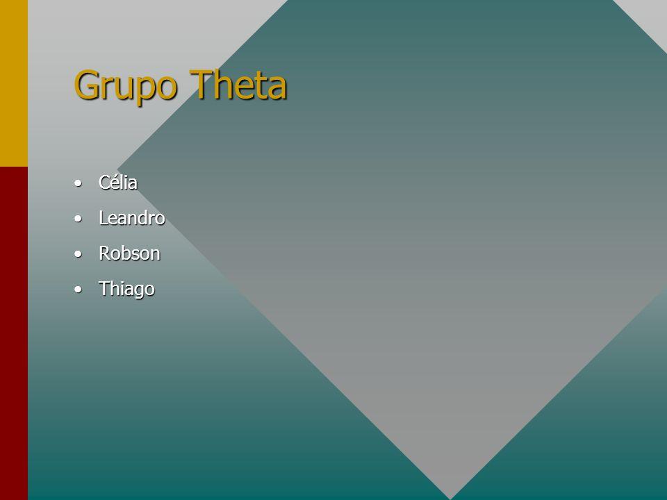 Grupo Theta Célia Leandro Robson Thiago