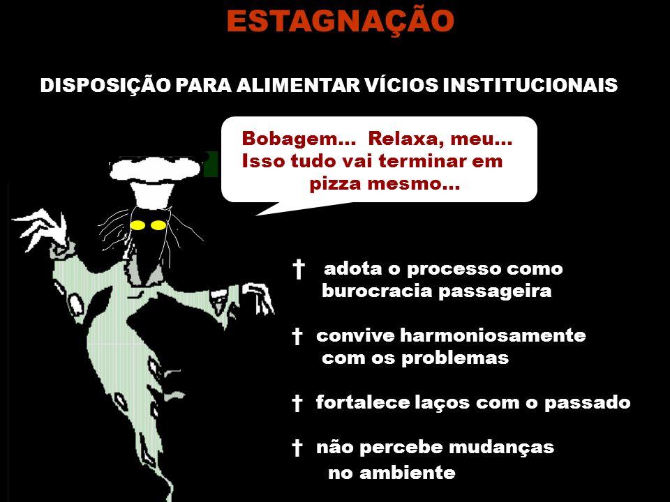 DISPOSIÇÃO PARA ALIMENTAR VÍCIOS INSTITUCIONAIS
