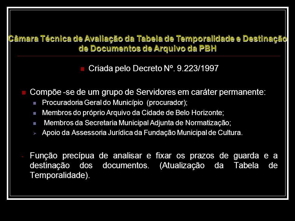 Criada pelo Decreto Nº. 9.223/1997