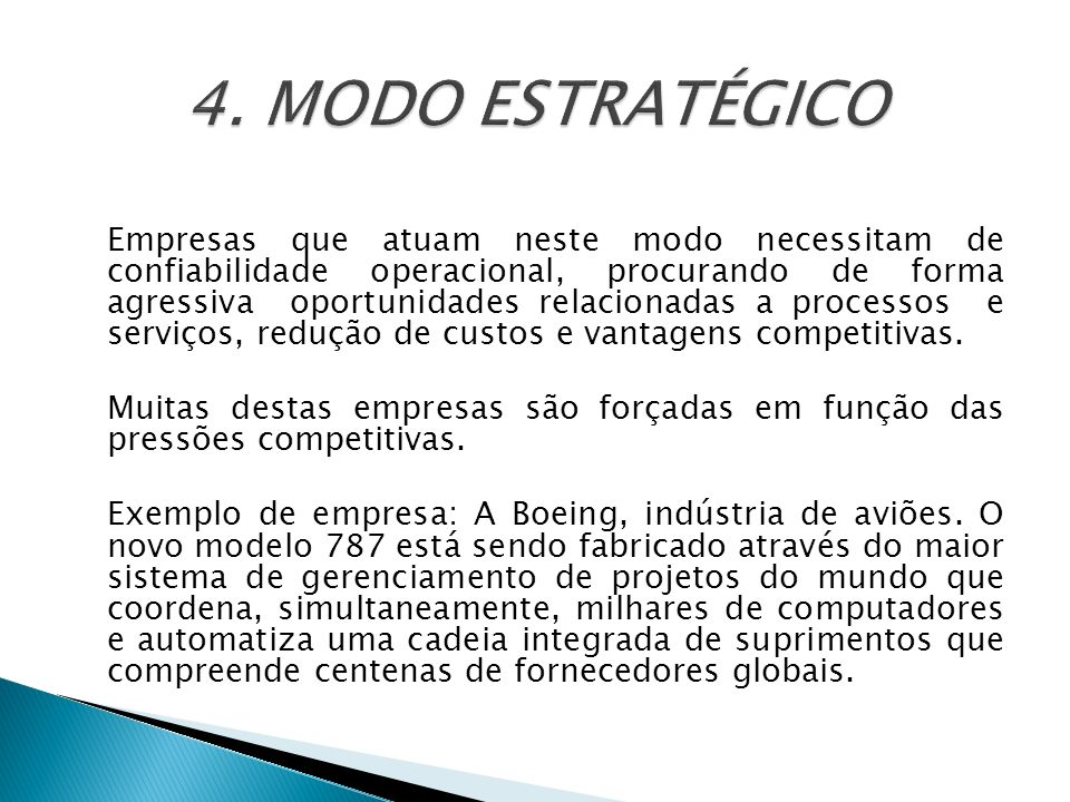 4. MODO ESTRATÉGICO