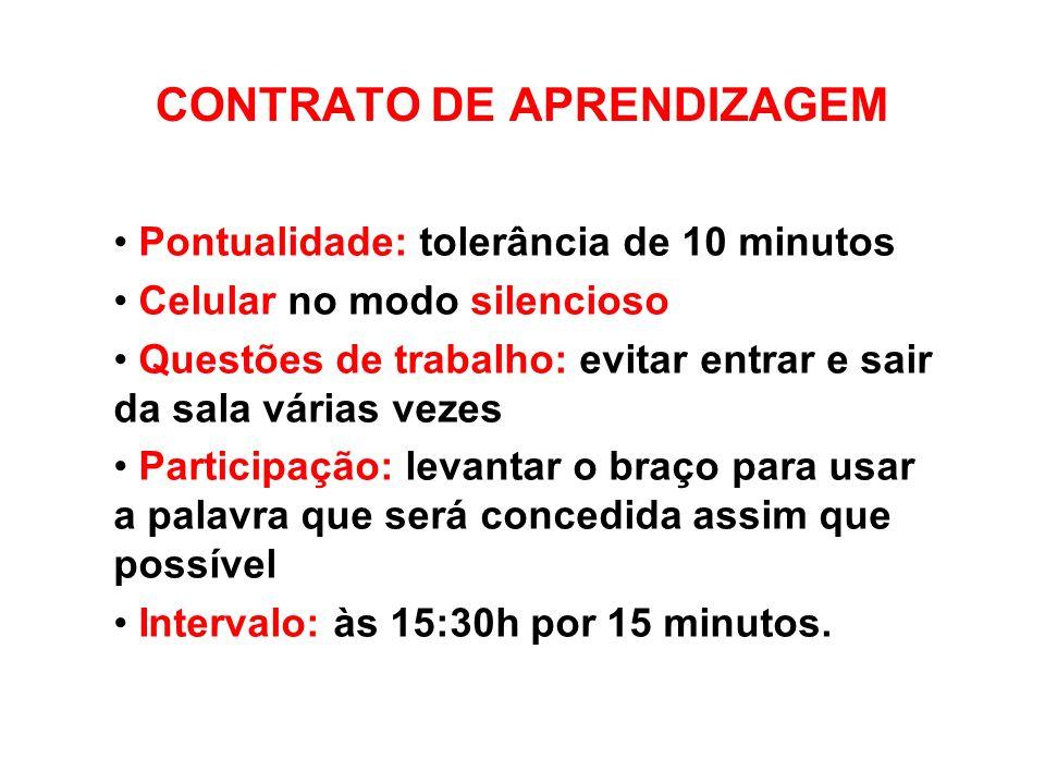 CONTRATO DE APRENDIZAGEM