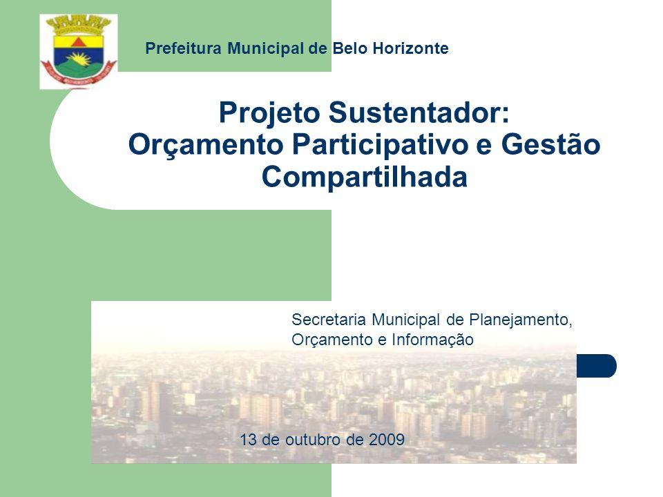Projeto Sustentador: Orçamento Participativo e Gestão Compartilhada