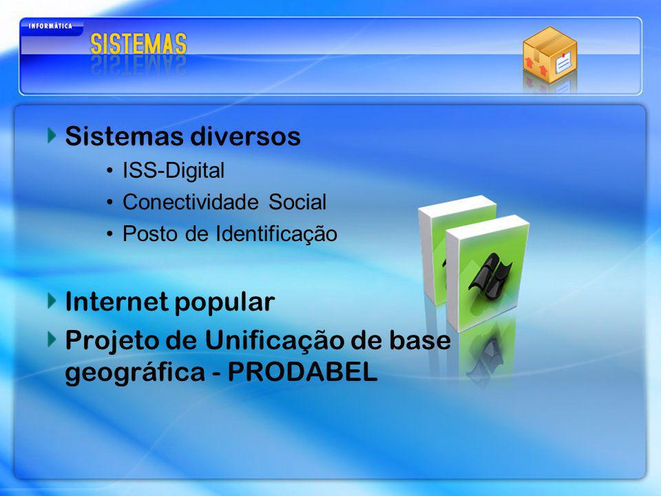 Projeto de Unificação de base geográfica - PRODABEL