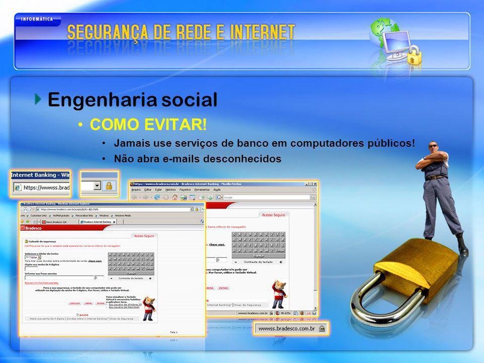 Engenharia social COMO EVITAR!