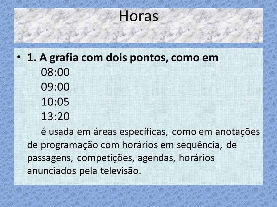 Horas
