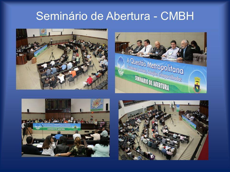 Seminário de Abertura - CMBH