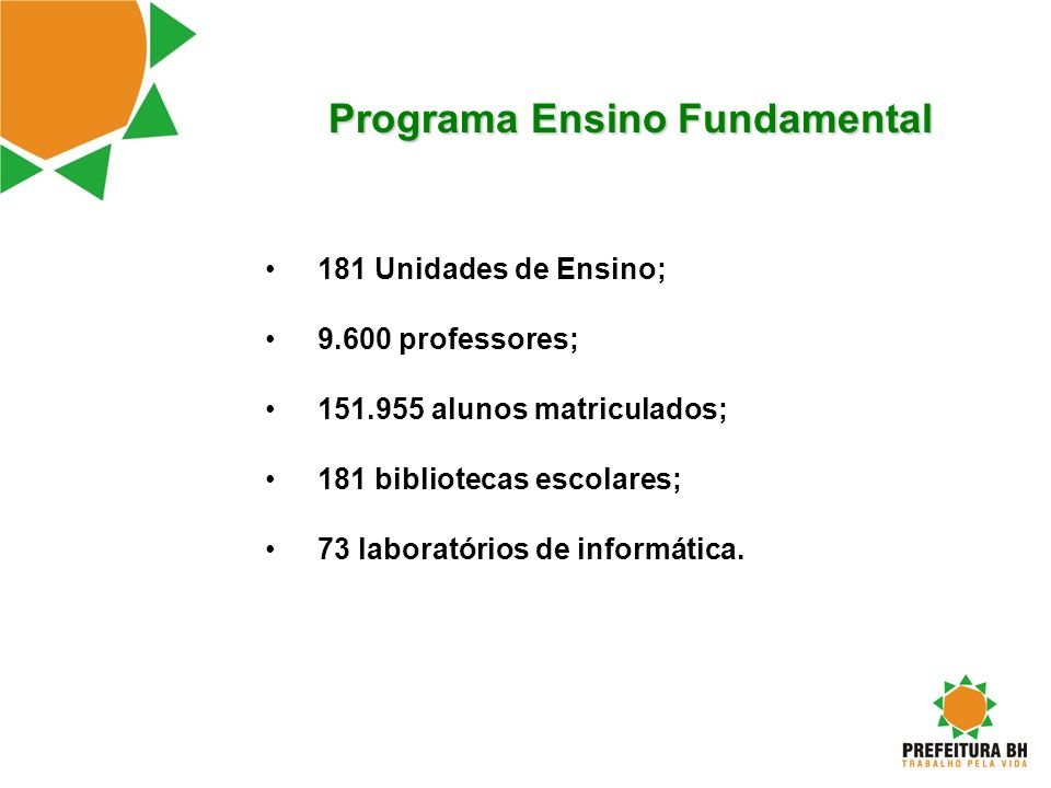 Programa Ensino Fundamental