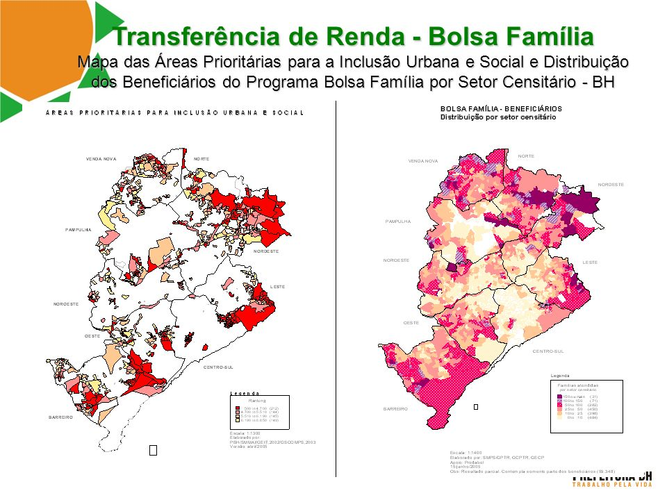 Transferência de Renda - Bolsa Família