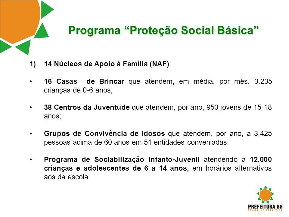 Programa Proteção Social Básica