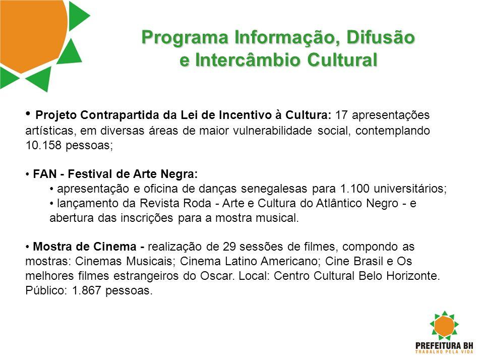 Programa Informação, Difusão e Intercâmbio Cultural