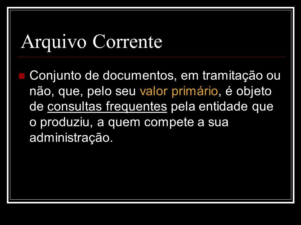 Arquivo Corrente
