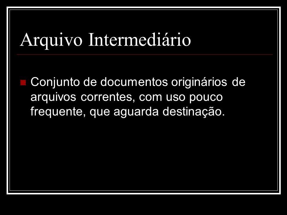Arquivo Intermediário