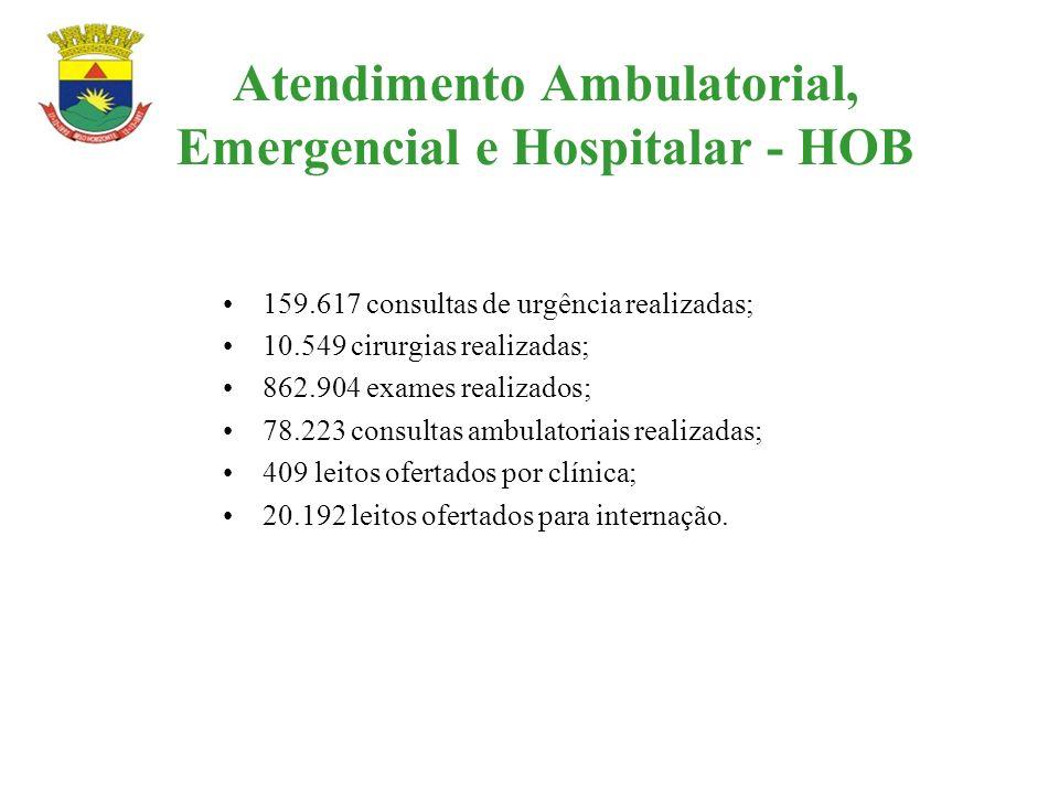 Atendimento Ambulatorial, Emergencial e Hospitalar - HOB