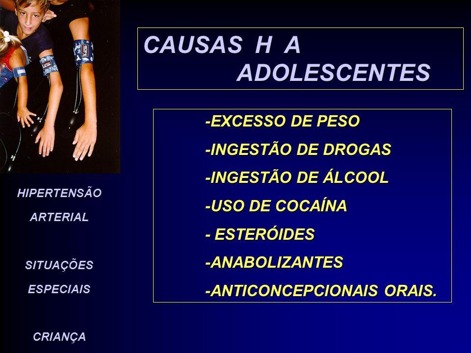 CAUSAS H A ADOLESCENTES