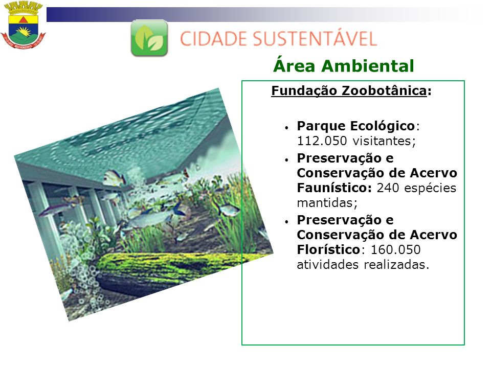 Área Ambiental Fundação Zoobotânica:
