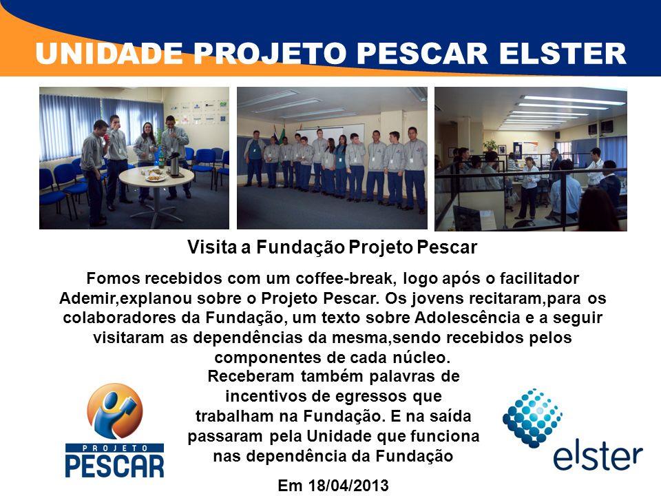 Visita a Fundação Projeto Pescar