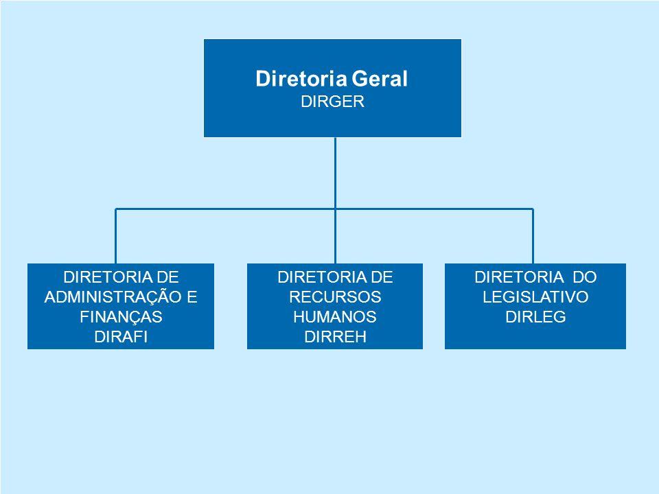 Diretoria Geral DIRGER DIRETORIA DE ADMINISTRAÇÃO E FINANÇAS DIRAFI