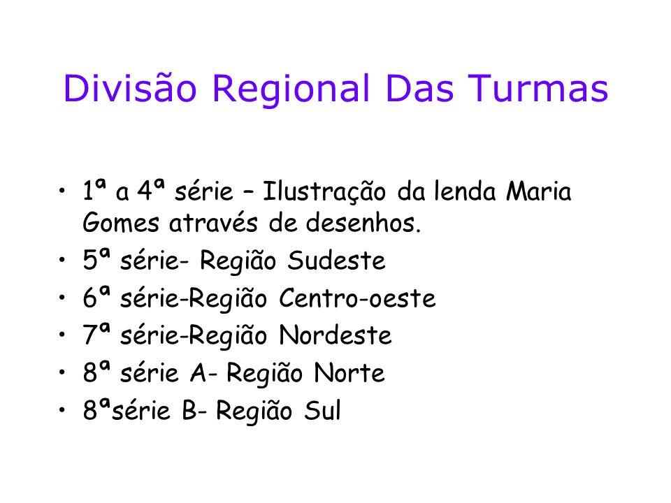 Divisão Regional Das Turmas