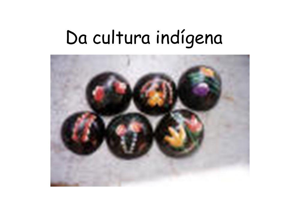 Da cultura indígena