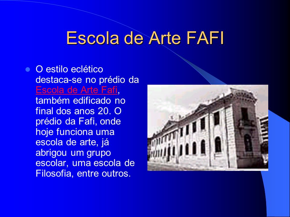 Escola de Arte FAFI