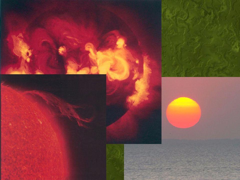 O Sol Uma estrela de cor amarelada. Classe G5 Quinta grandeza