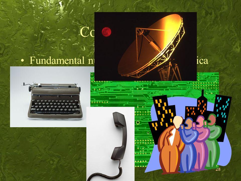 Comunicação Fundamental numa sociedade tecnológica