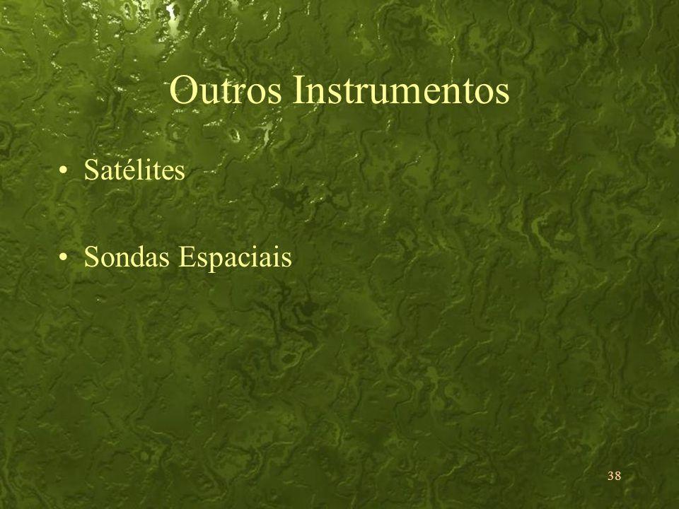 Outros Instrumentos Satélites Sondas Espaciais