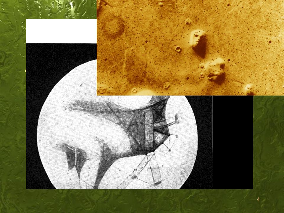 Indícios: Sim Os sinais em Marte
