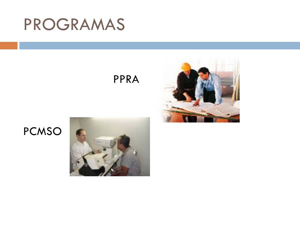 PROGRAMAS PPRA PCMSO