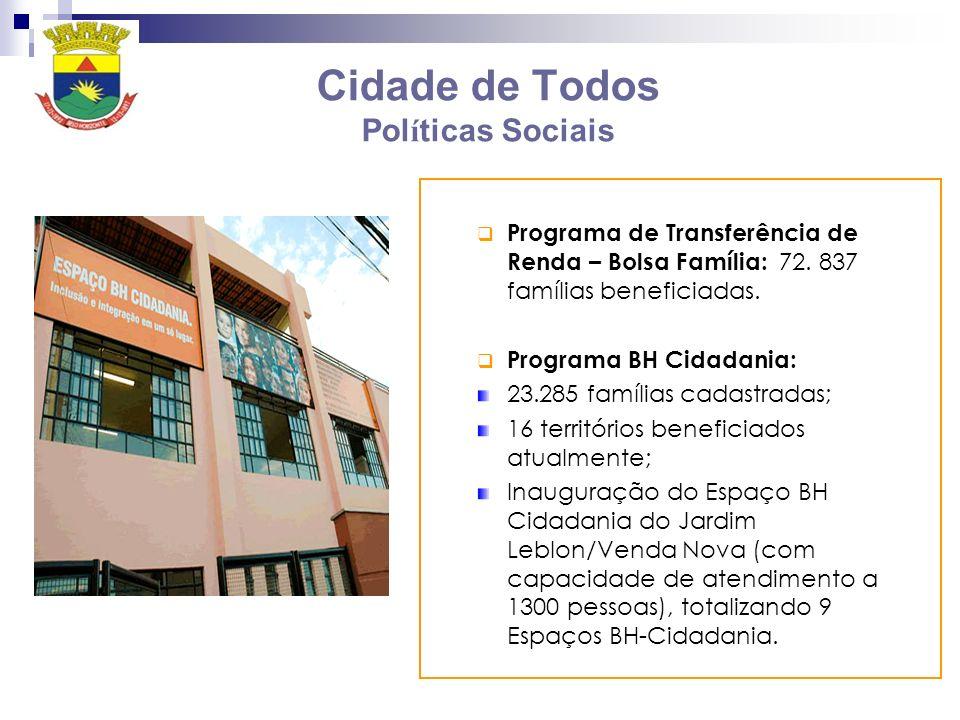 Cidade de Todos Políticas Sociais