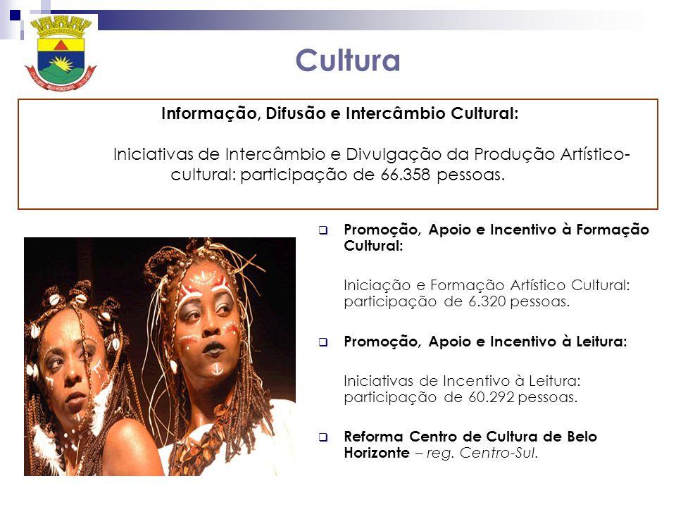 Informação, Difusão e Intercâmbio Cultural: