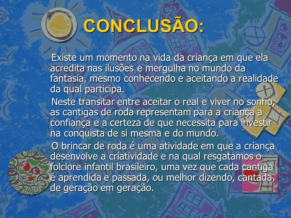 CONCLUSÃO: