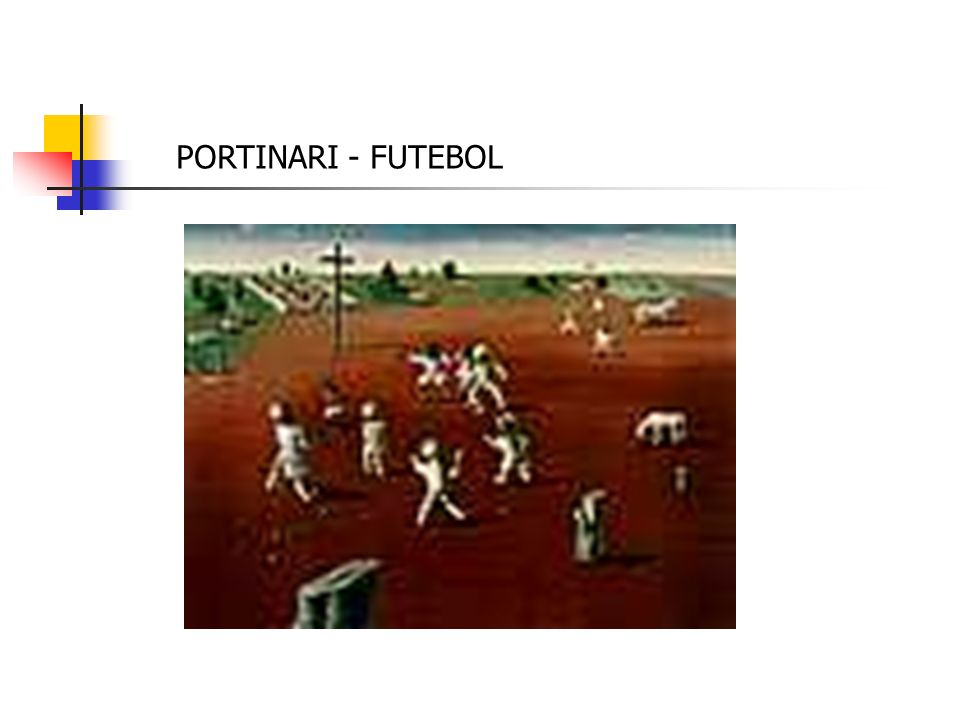 PORTINARI - FUTEBOL
