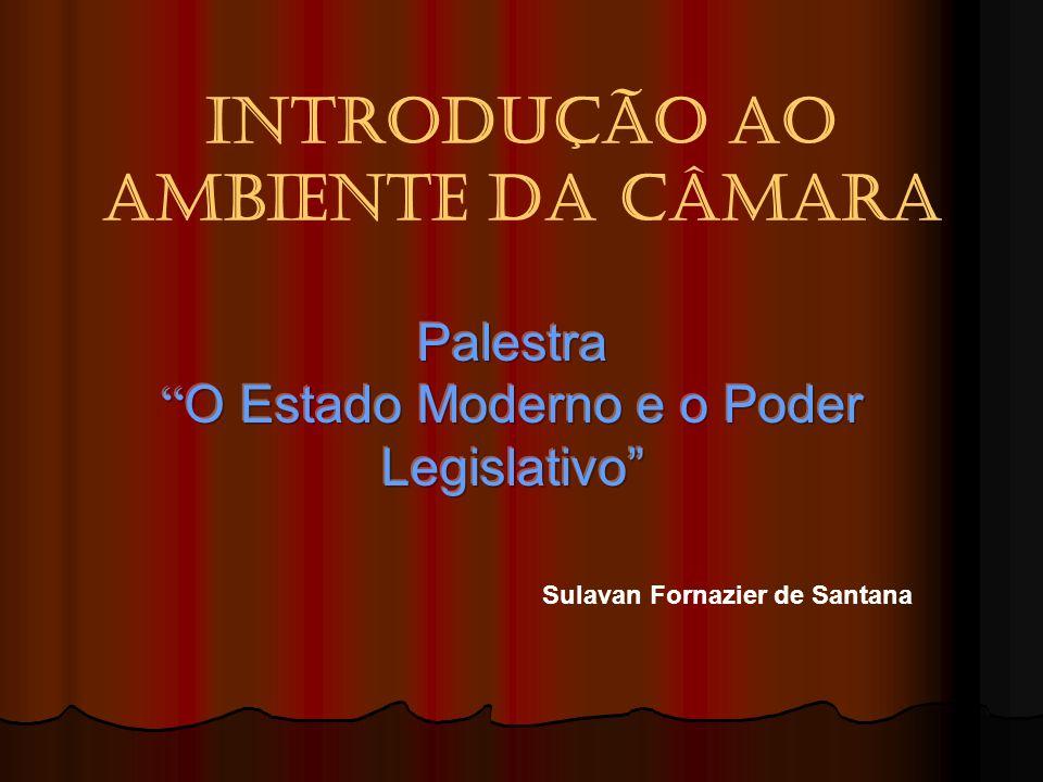 INTRODUÇÃO AO AMBIENTE DA CÂMARA Sulavan Fornazier de Santana