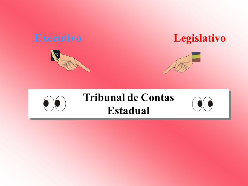 Executivo Legislativo Tribunal de Contas Estadual