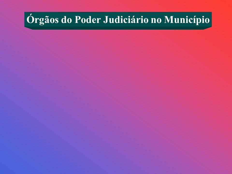 Órgãos do Poder Judiciário no Município