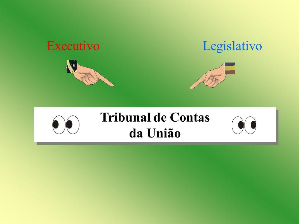 Executivo Legislativo Tribunal de Contas da União
