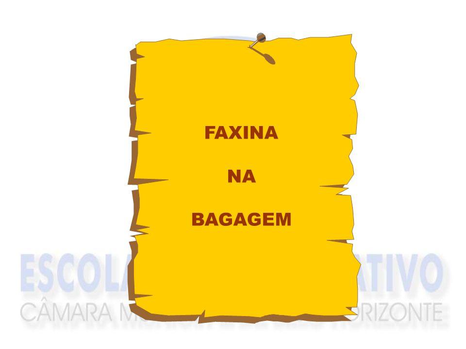 FAXINA NA BAGAGEM