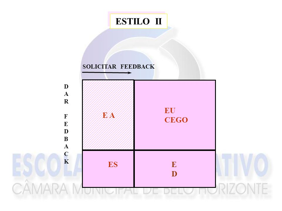 ESTILO II SOLICITAR FEEDBACK D A R F E B C K EU CEGO E A ES ED