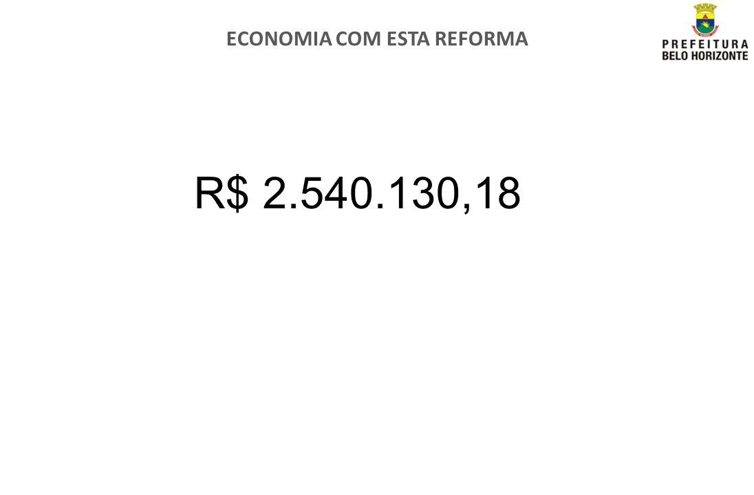 ECONOMIA COM ESTA REFORMA