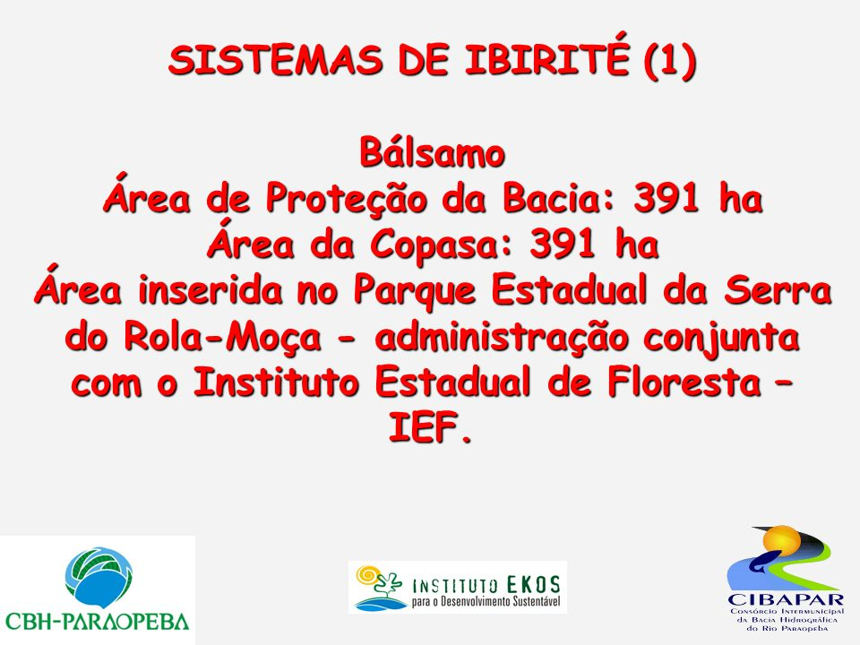 SISTEMAS DE IBIRITÉ (1)
