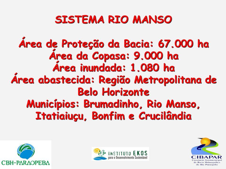 SISTEMA RIO MANSO