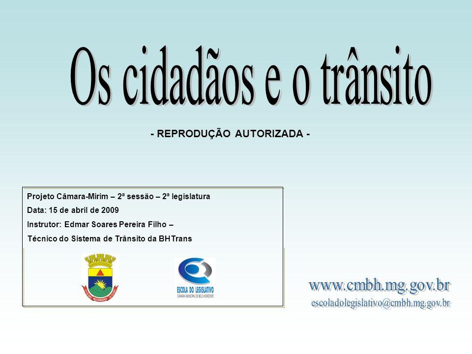 Os cidadãos e o trânsito