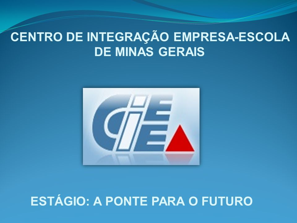 CENTRO DE INTEGRAÇÃO EMPRESA-ESCOLA DE MINAS GERAIS