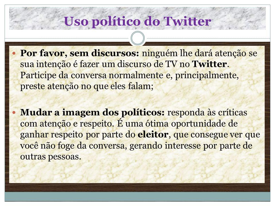 Uso político do Twitter