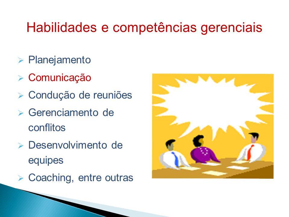 Habilidades e competências gerenciais