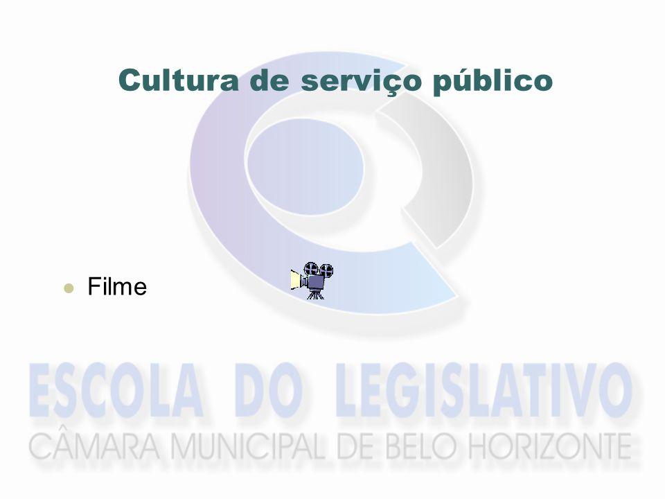 Cultura de serviço público