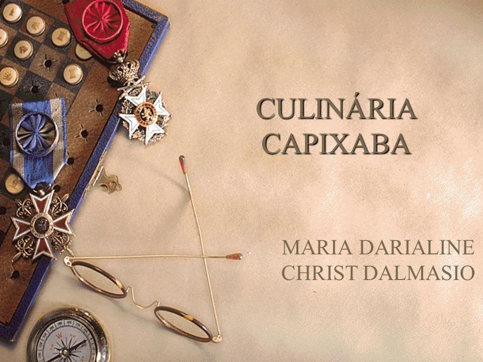 MARIA DARIALINE CHRIST DALMASIO