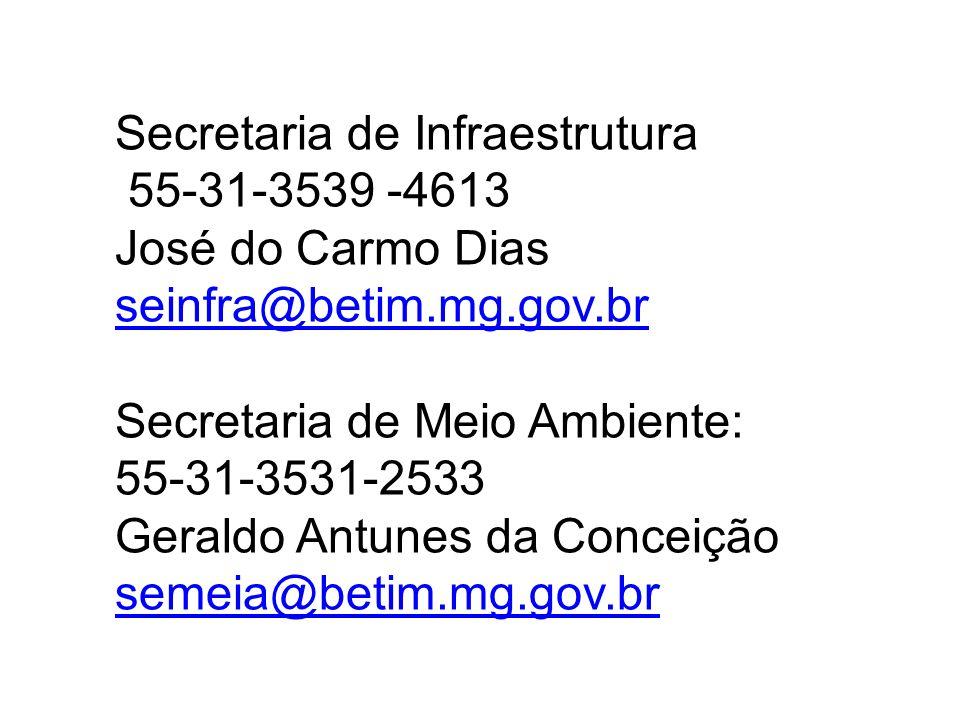 Secretaria de Infraestrutura