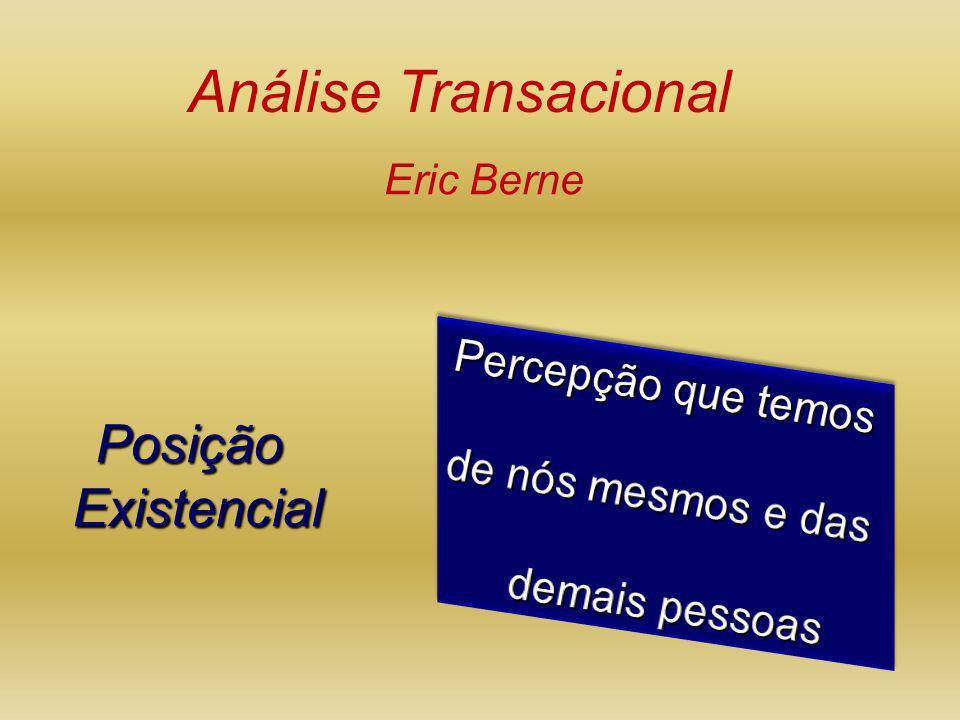 Análise Transacional Posição Existencial Percepção que temos